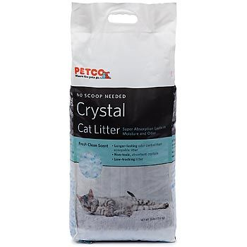 Petco Crystal Cat Litter