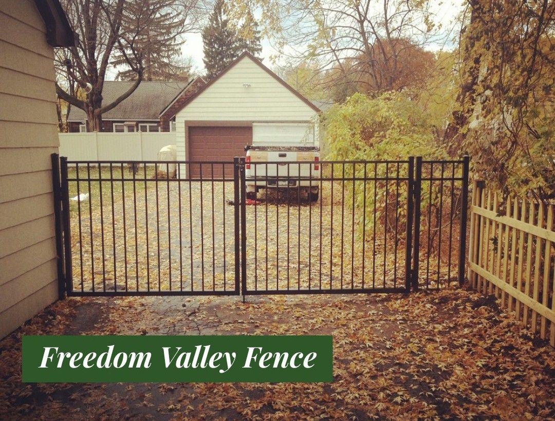 Aluminum Fence - Gates - Driveway Gates - Safe Boundary | Freedom