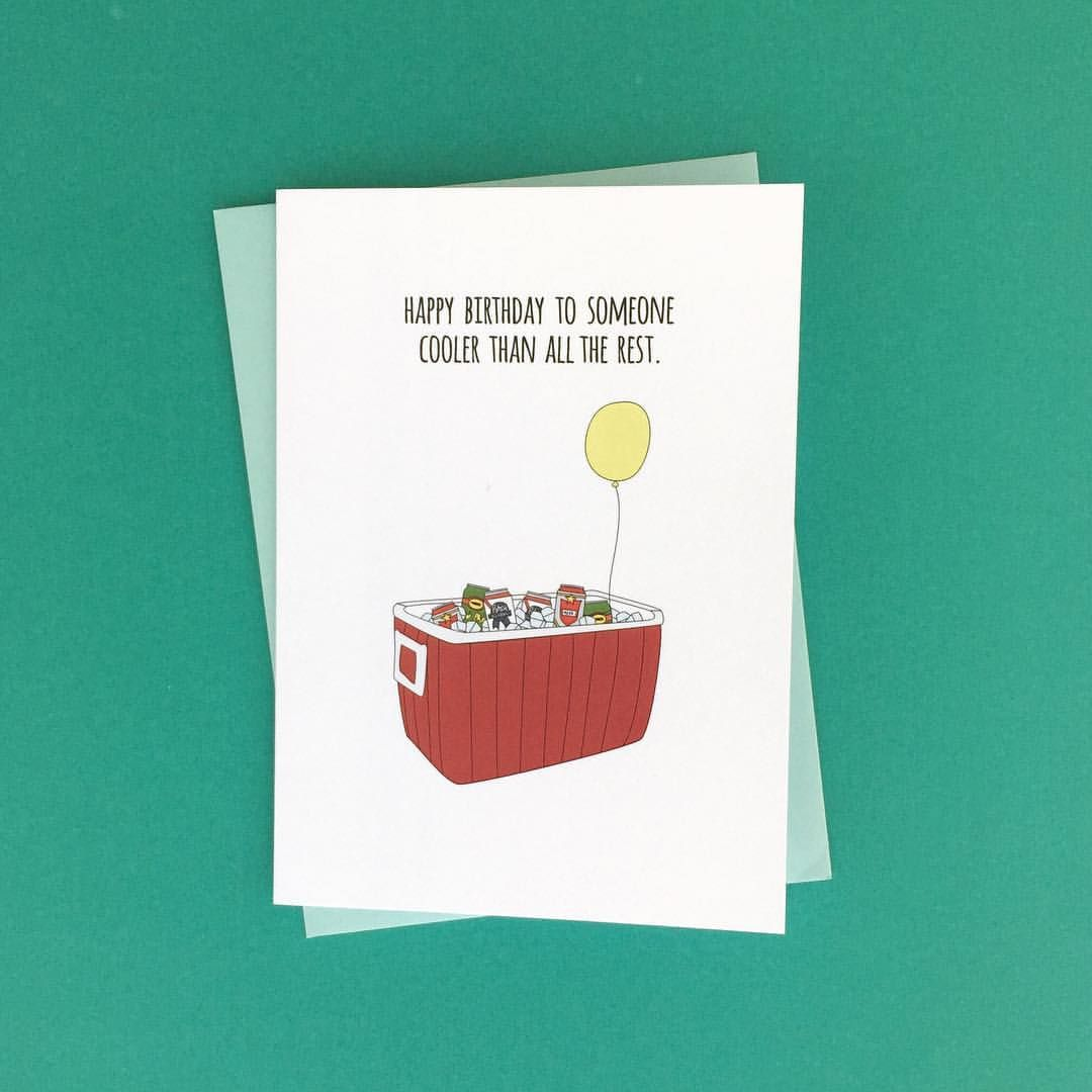 Instagram Be cool my friends be cool Funny birthday card – Birthday Card Cool