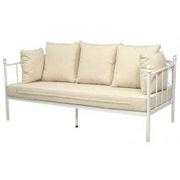 Divano in ferro battuto Riccioli | Poltrone e divani | Pinterest