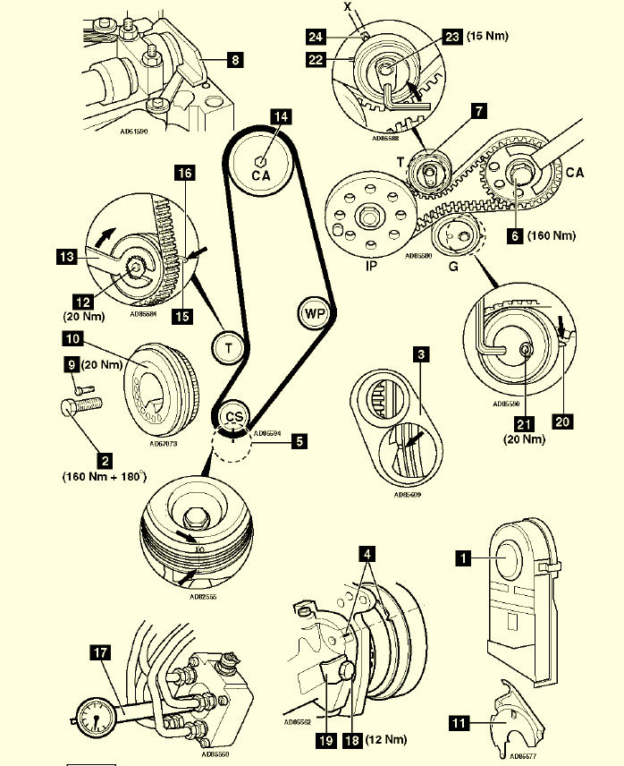 46 timing marks diagram | wiring diagram 46 timing marks diagram ford ranger timing marks diagram #8