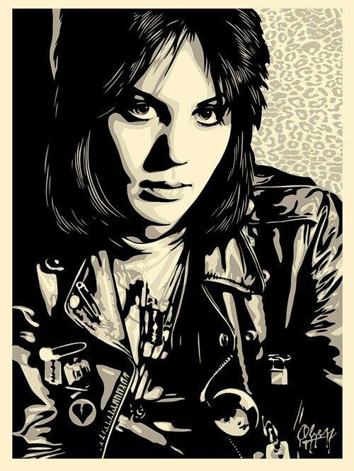 de1f3f6e2a Joan Jett -by Shepard Fairey
