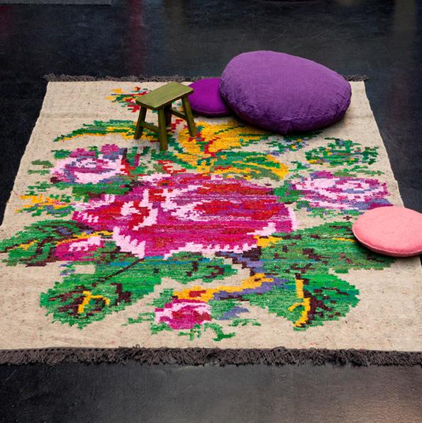 tapis fleurs de legende 2 chez serendipity - Tapis Fleur
