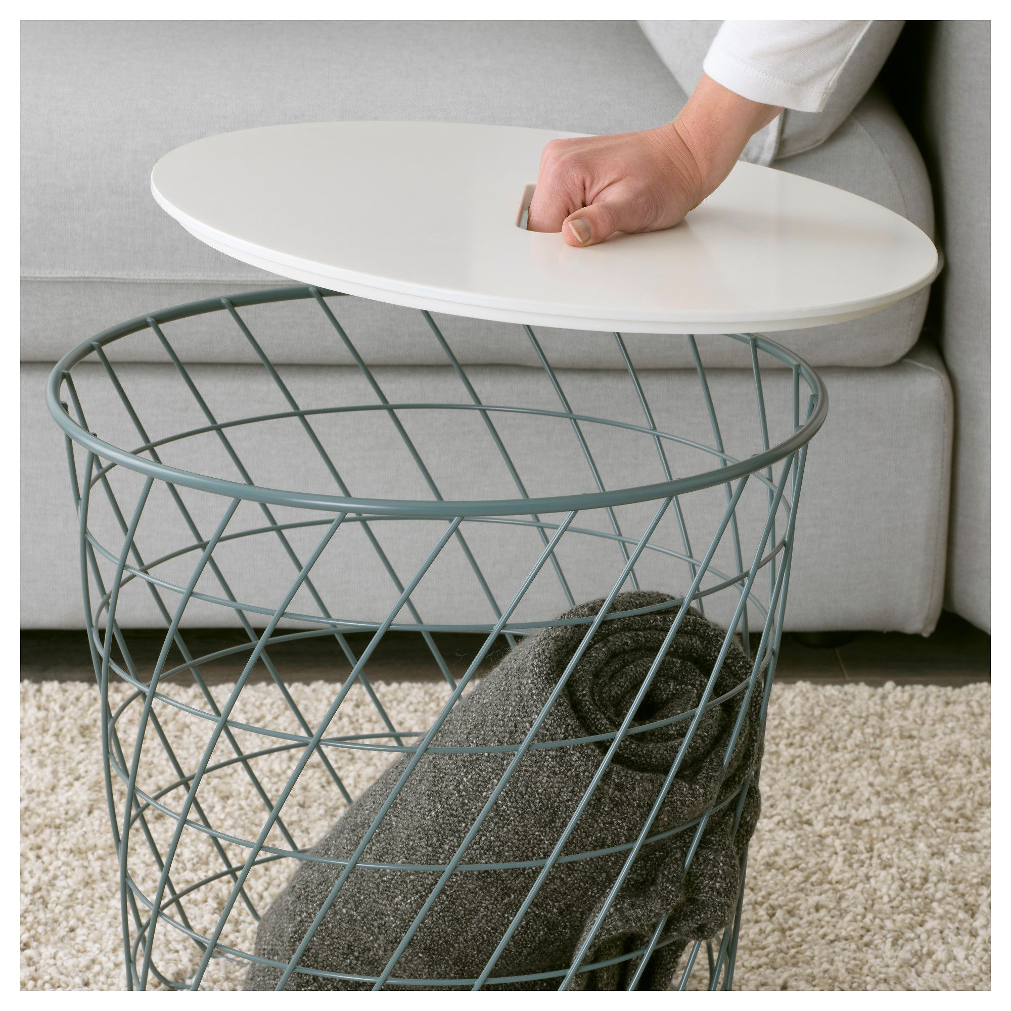 KVISTBRO τραπέζι με αποθηκευτικό χώρο IKEA