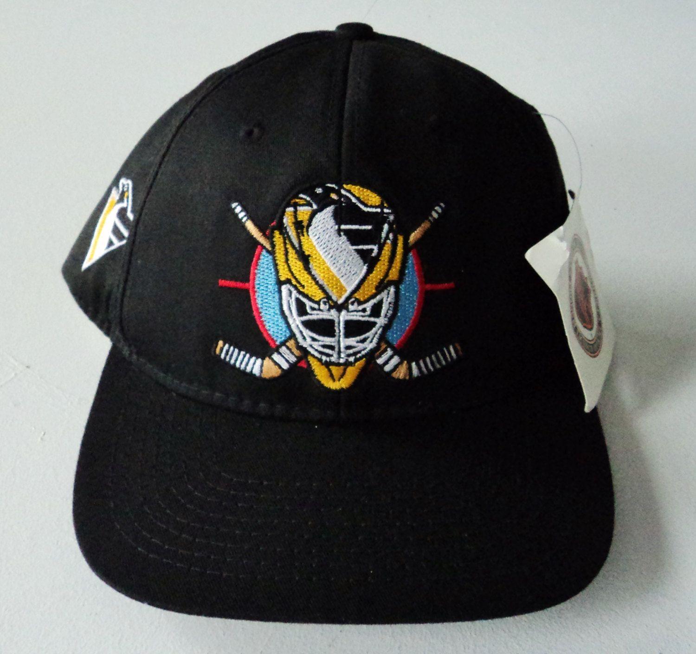 Vintage Pittsburgh Penguins CCM Deadstock Snapback Hat NHL VTG by  StreetwearAndVintage on Etsy 2888ce3dce3