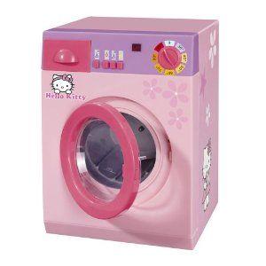 Simba 104767541 Hello Kitty, Waschmaschine