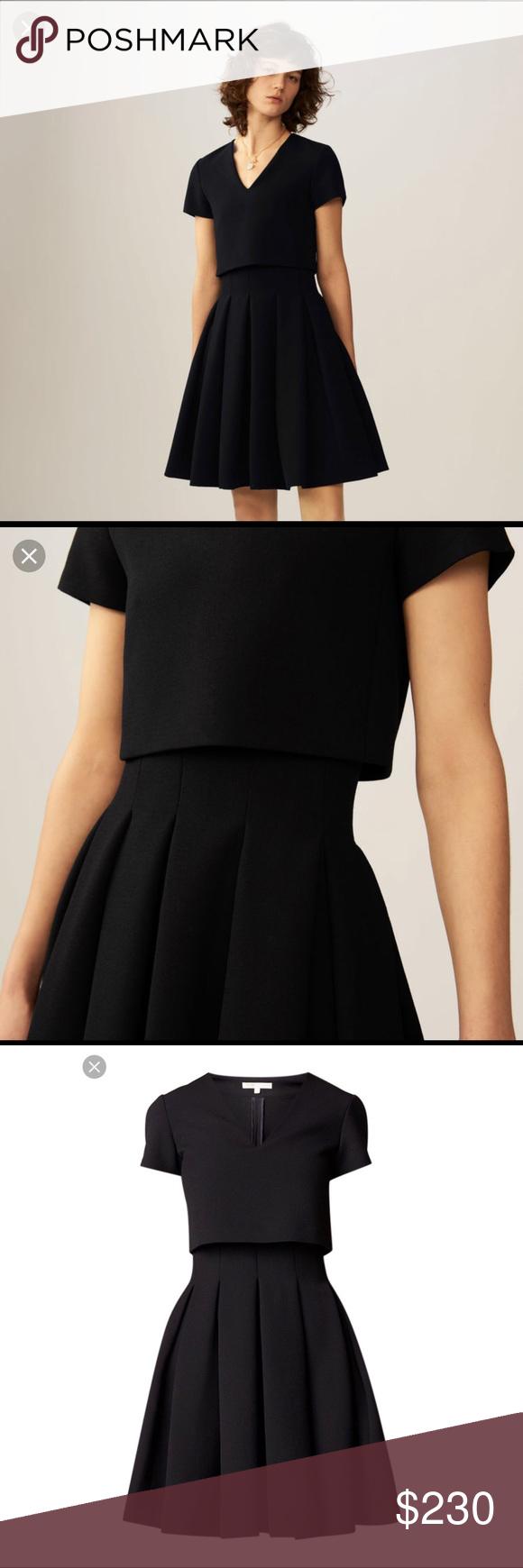 Maje Little Black Dress Dresses Little Black Dress Maje Dress [ 1740 x 580 Pixel ]