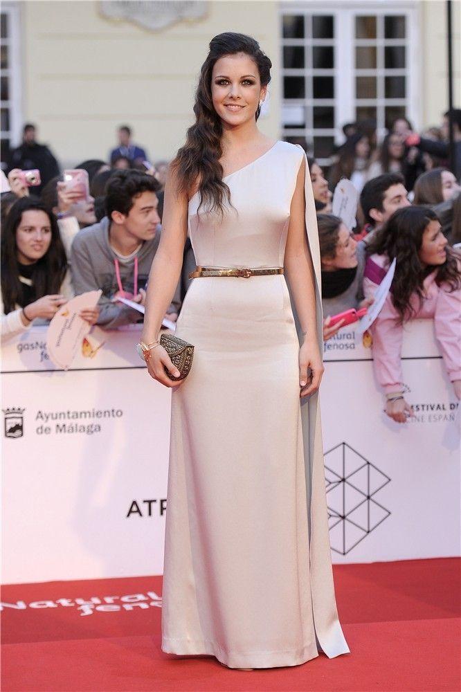 Sandra Blázquez asiste a la clausura del Festival de Málaga