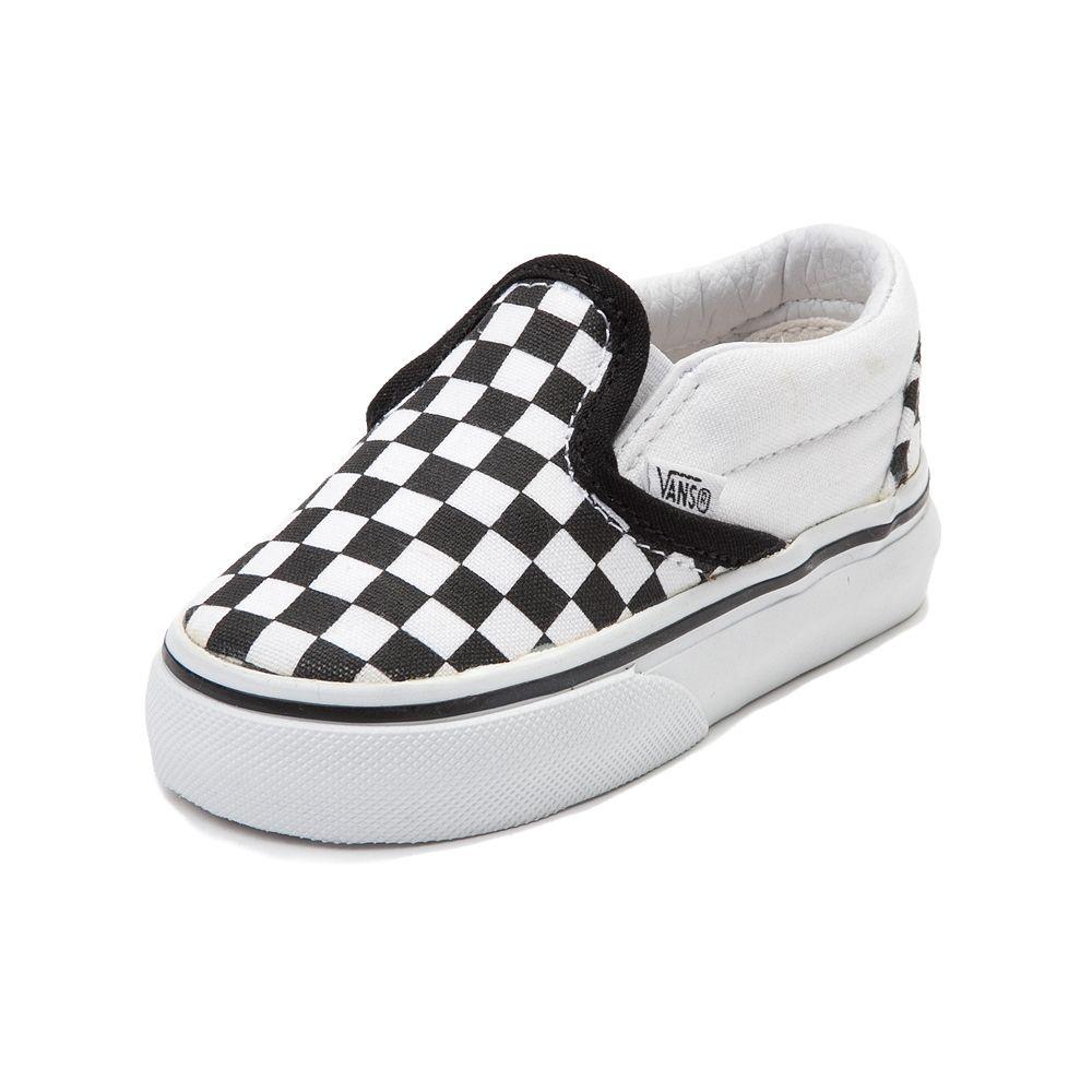 e9542b740811 Toddler Vans Slip On Chex Skate Shoe
