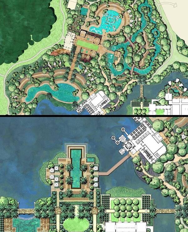 Edsa completes landscape design for four seasons resort for Design hotel orlando