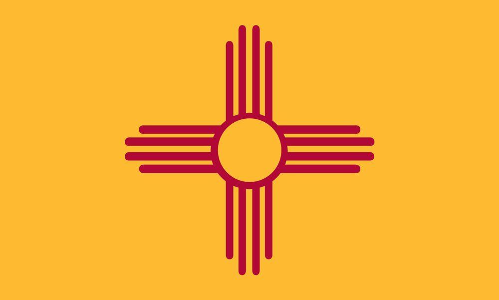 New Mexico State Flag Coloring Pages States New Mexico New