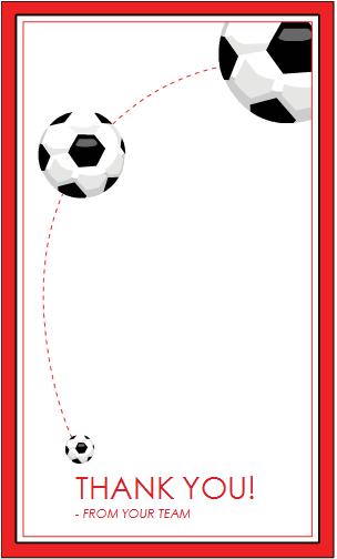 Thank You Card For Soccer Coach Soccer Coach Gifts Coach Gifts Soccer Coaching