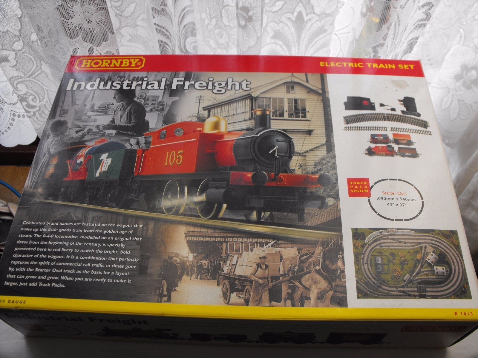 #Hornby industrial #freight #model railway electric train set r1015,  View more on the LINK: http://www.zeppy.io/product/gb/2/162279038374/