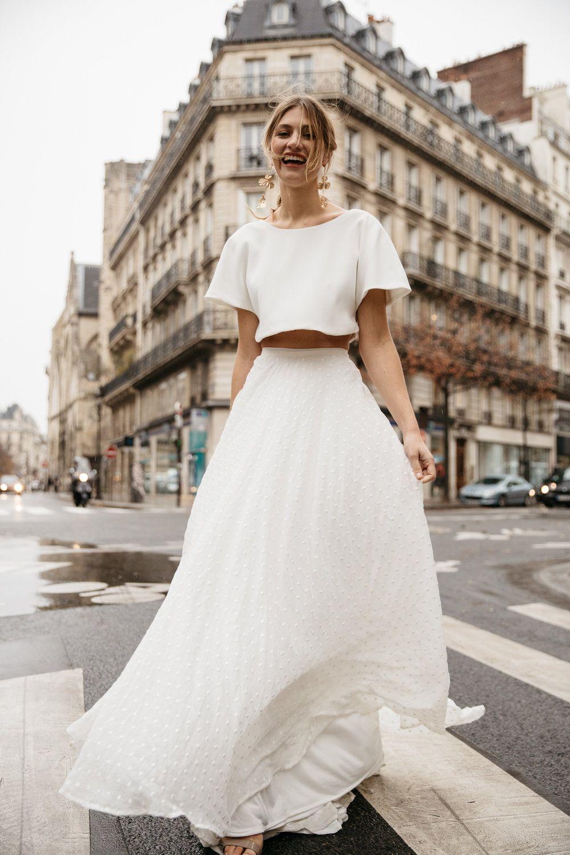 FASHION // Daisy Brides Editorial in Paris Two piece