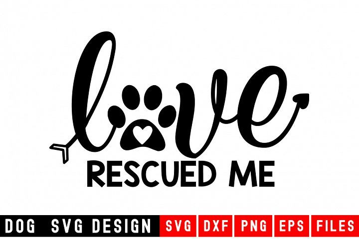 Download Love Rescued Me svg|Fur Mom SVG|Animal and (With images ...