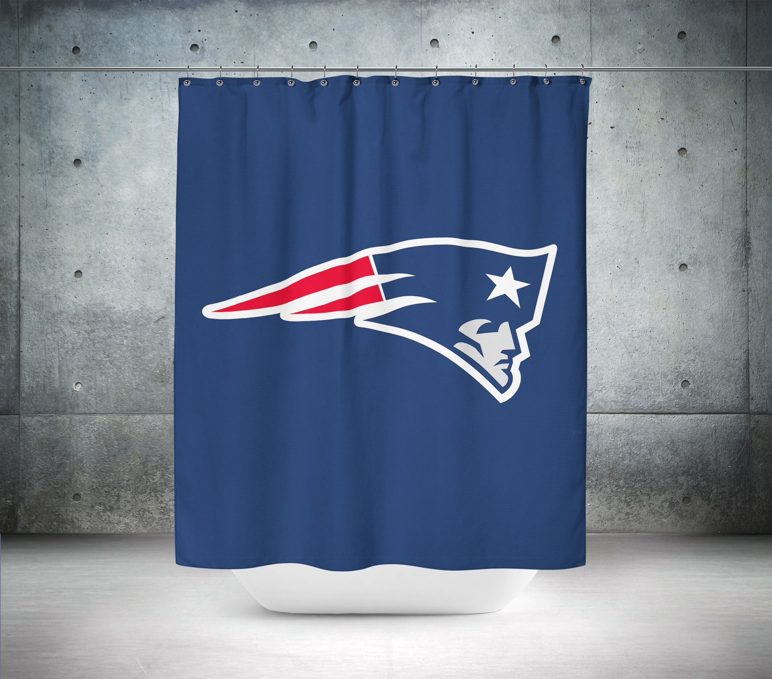 New England Patriots Nfl Shower Curtain Curtains New England Nfl