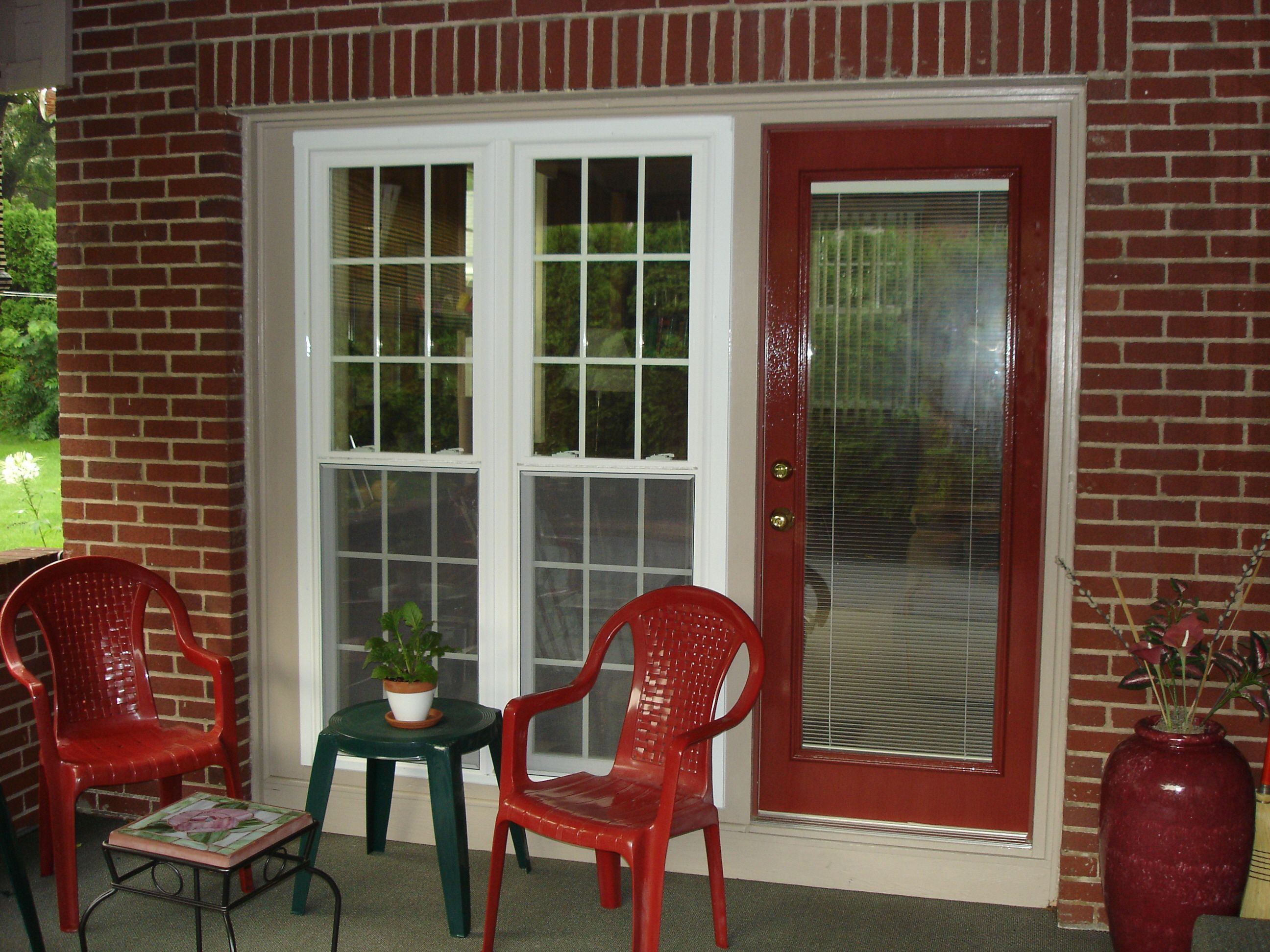 Replace a window with a door - Replace Garage Door With Windows And Door