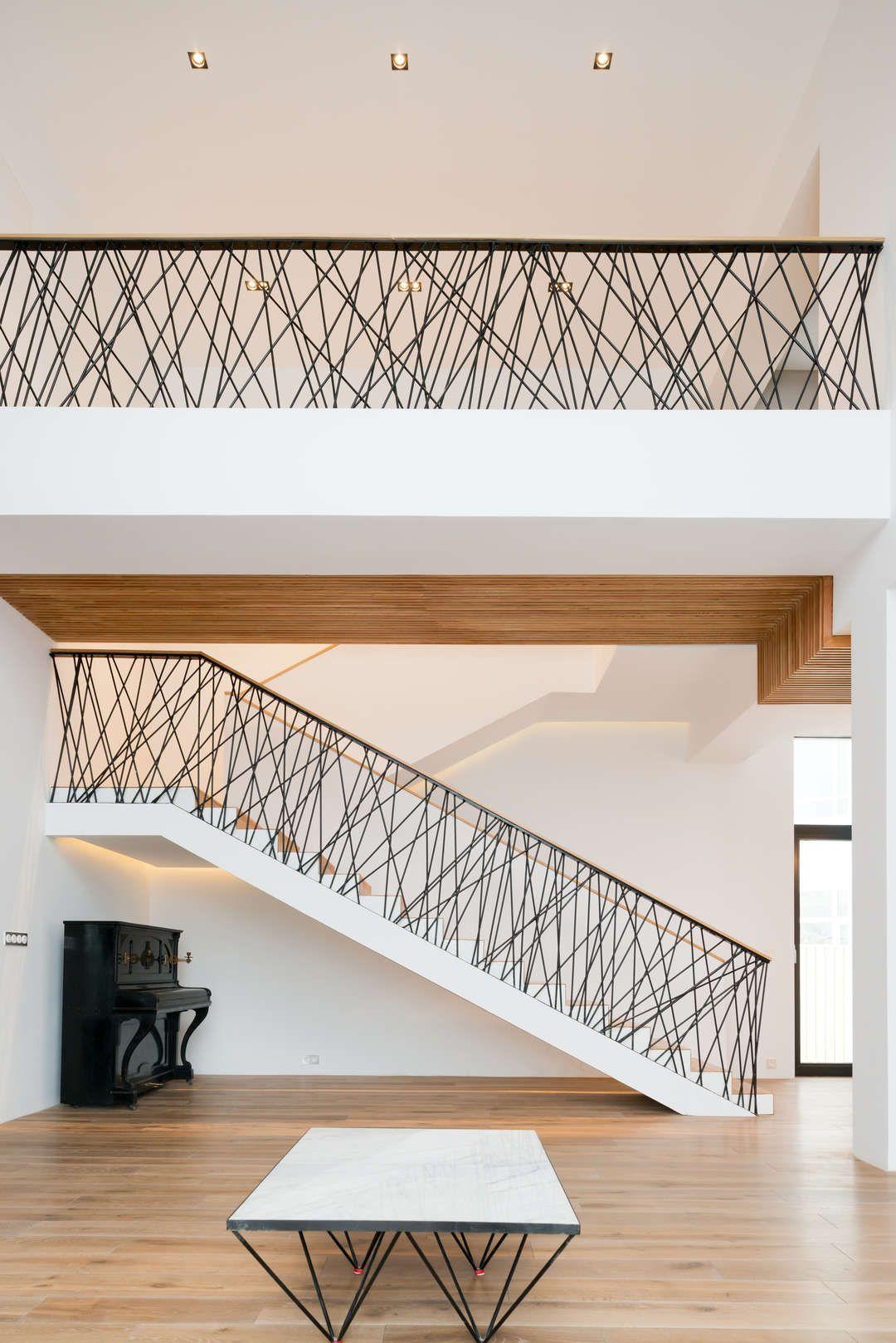 Idee Von Michael Hornung Auf Haus Moderne Stiegen Treppe Haus Haus