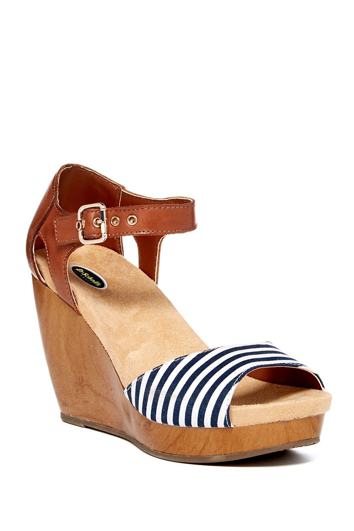48b33482924 Milestone Platform Wedge Sandal on HauteLook so cute!