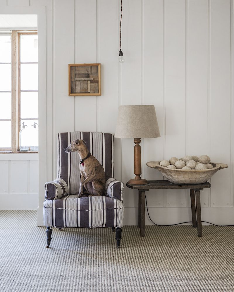 Alternative Flooring's Wool Craft collection Living room