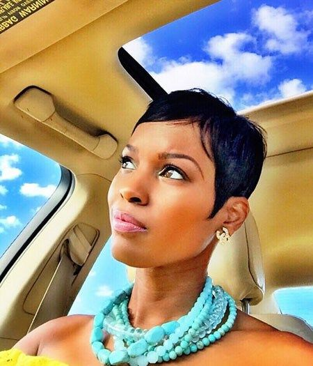 Best Short Pixie Hairstyles for Black Women 2018 – 2019 #shortstyles