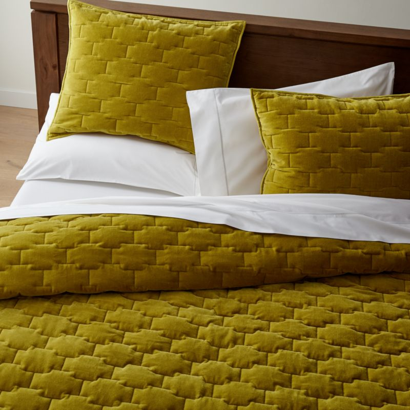 Sale Ends Soon Shop Palazzo Mustard Yellow Velvet Quilts And Pillow Shams Palazzo Velvet Beddingbed Pillows Yellow Bedding Velvet Quilt Velvet Bed