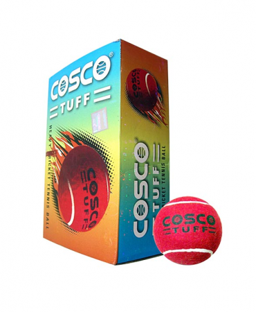 Cosco Cricket Tennis Tuff Balls Pack Of 1 Dozen In Rs 816 Cosco Tennis Ball Sports Activities For Kids