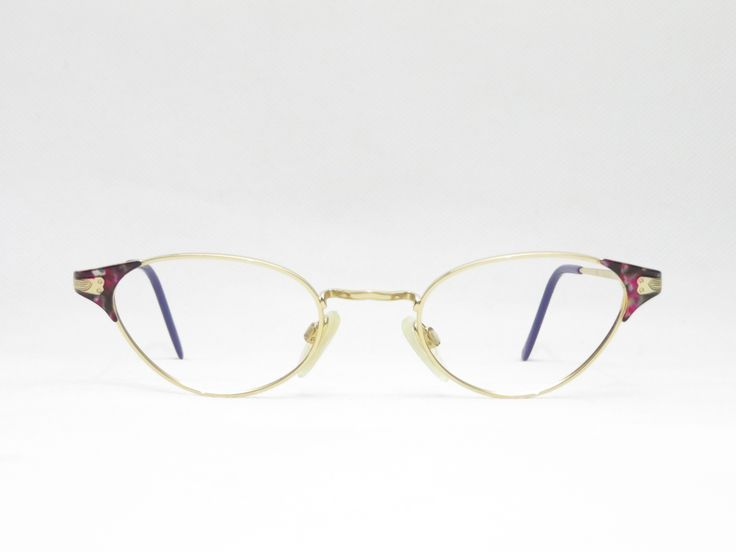 Steampunk Cateye Glasses For Women Small Oval Frame From The