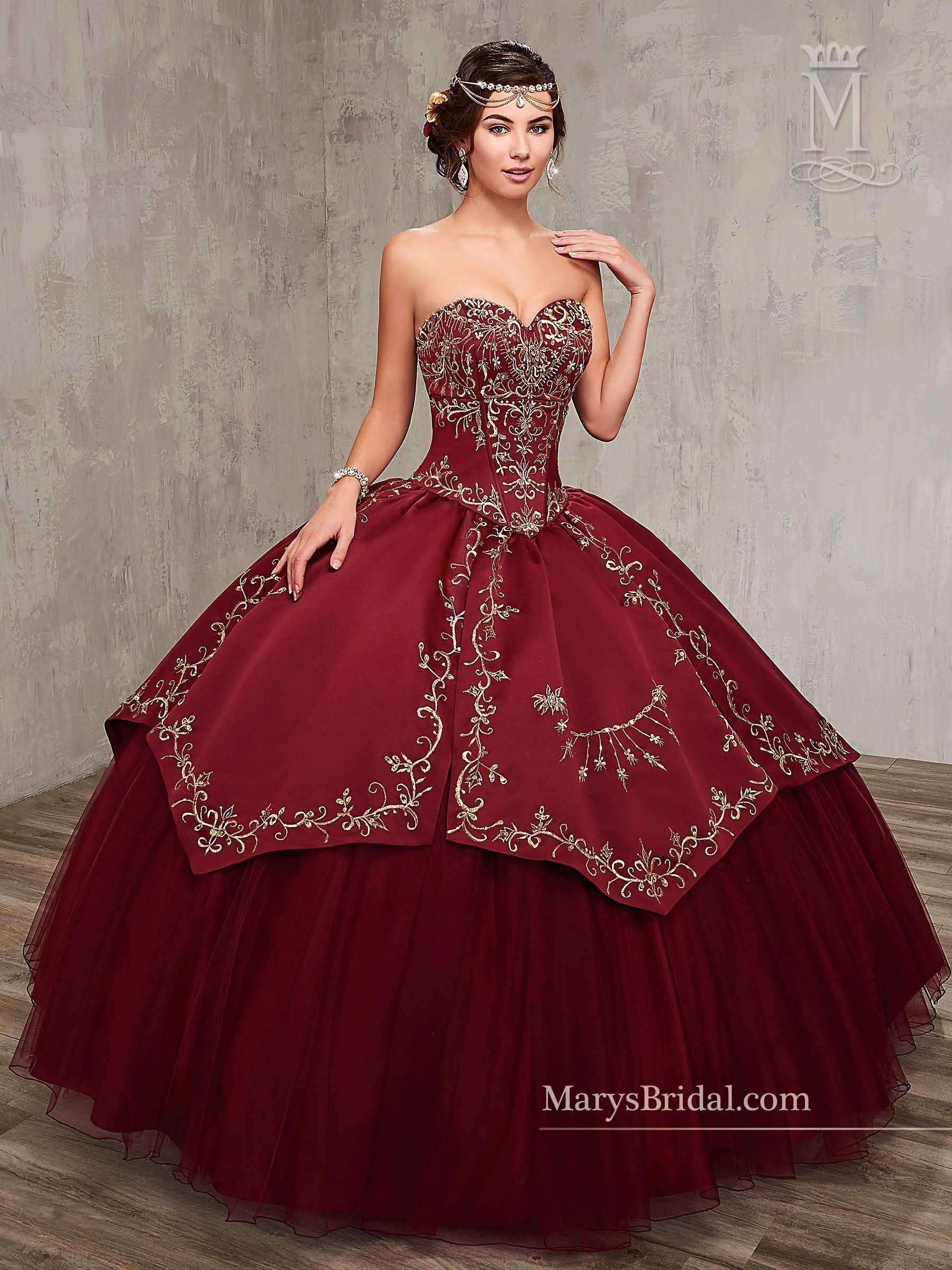 Charro Strapless Quinceanera Dress By Mary S Bridal Princess 4q516 Quincenera Dresses Quinceanera Dresses Mexican Quinceanera Dresses