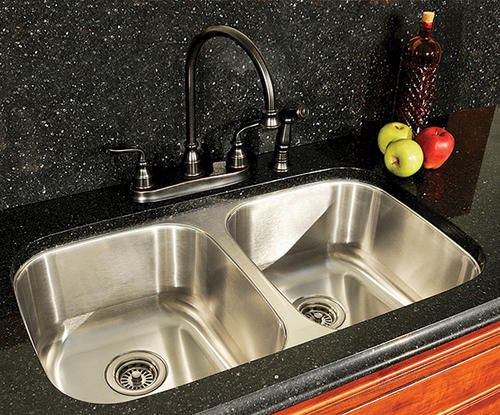 menards kitchen sink how to paint cabinets grey tuscany 50 undermount