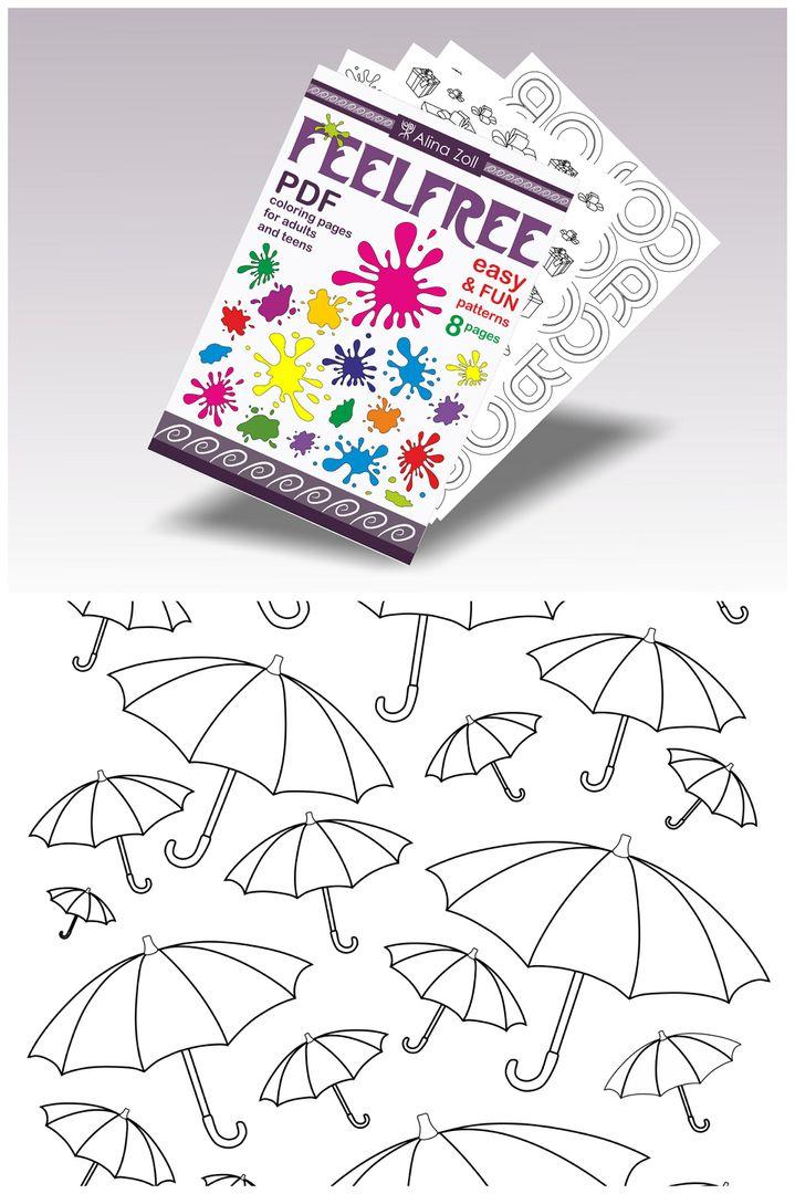 Digital Coloring Book Pdf Printable Coloring Pages Download Etsy Printable Coloring Pages Coloring Book Download Cool Coloring Pages