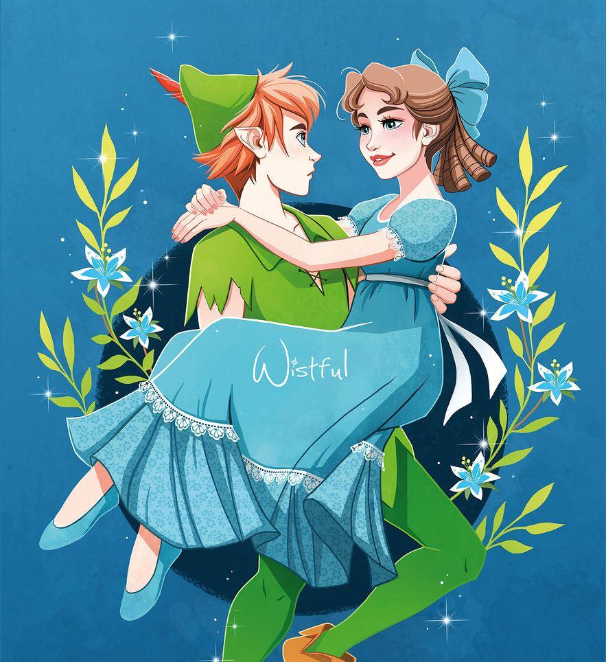 Never Grow Up Peter Pan And Wendy Disney E Desenho