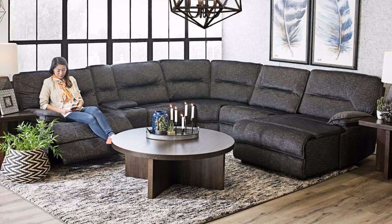 Pacifica 7 Piece Sectional In 2020 Reclining Sectional