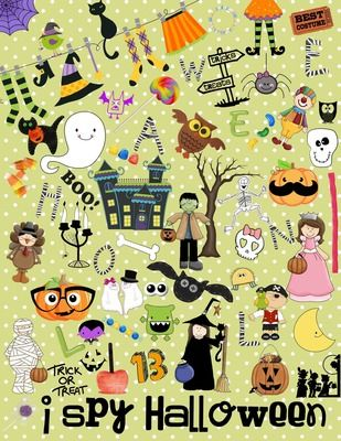 i spy halloween a fun halloween game for individuals or groups - Halloween Games For Groups