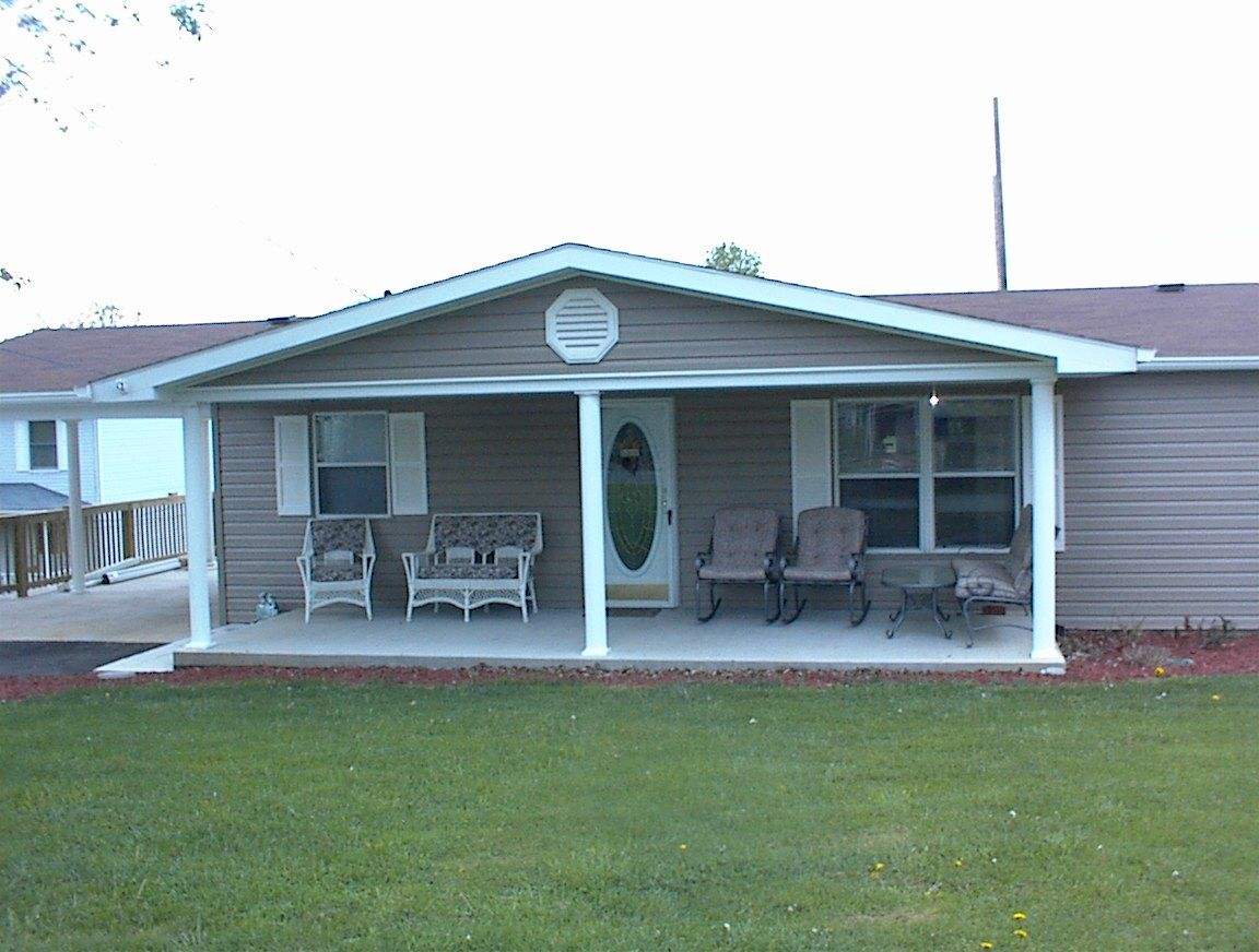 mobile home with carport Mobile home, Remodeling mobile