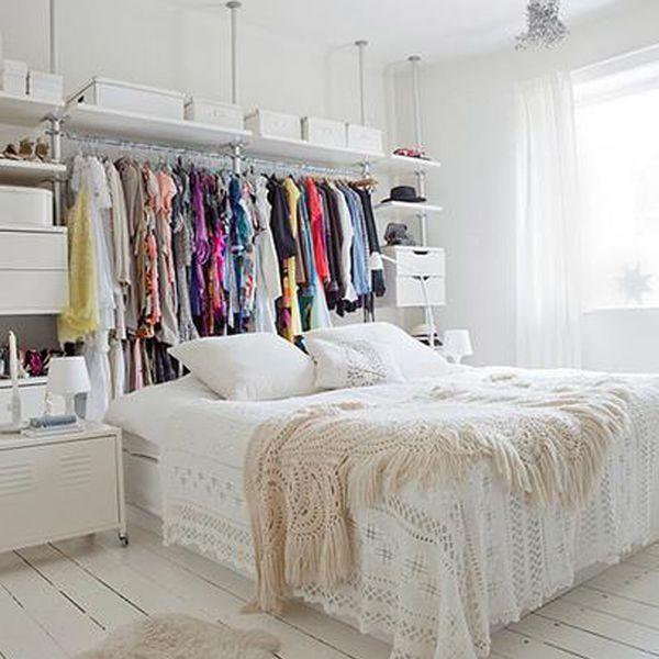 Dressing femme : cacher et ranger les vêtements en beauté | Bedrooms ...