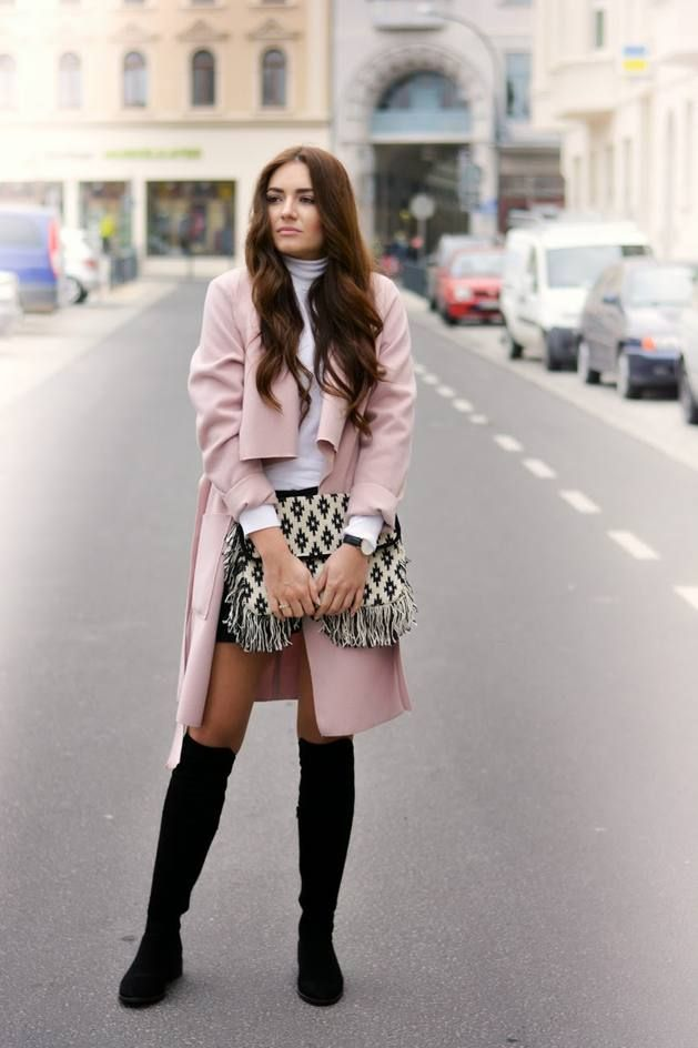 25 Beautiful Pink Outfits for Fall and Winter | Beautiful, Style ...