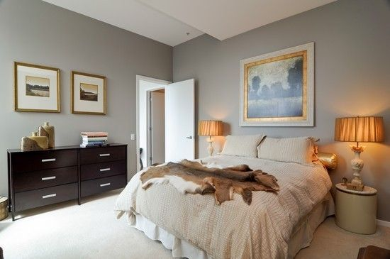 Calming and soothing are good adjectives to describe this bedroom at 500 W. Superior.