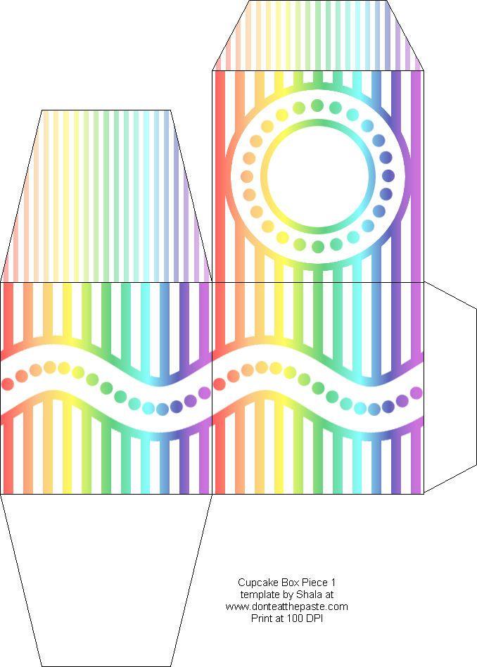 Free Downloadable Cake Box Patterns