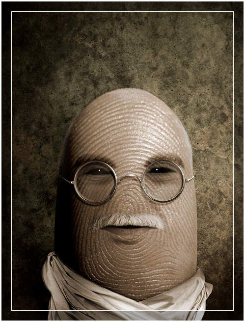Unusual Thumb Portraits of Famous People