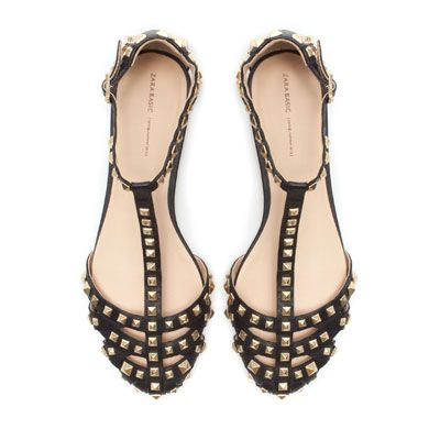 Zara Studded Sandal Love These Want These For Spring Studded