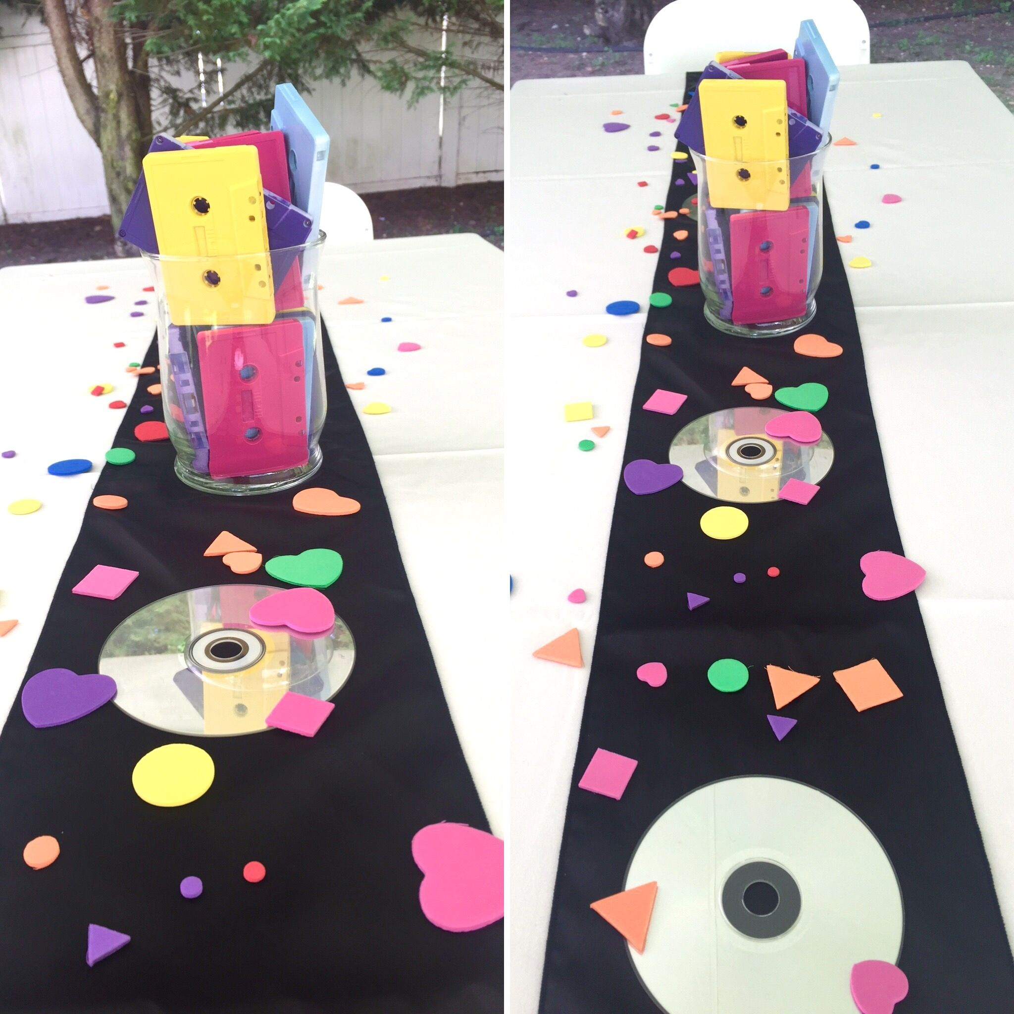 90 s theme party party centerpieces dj photos and for Modern 90s house music