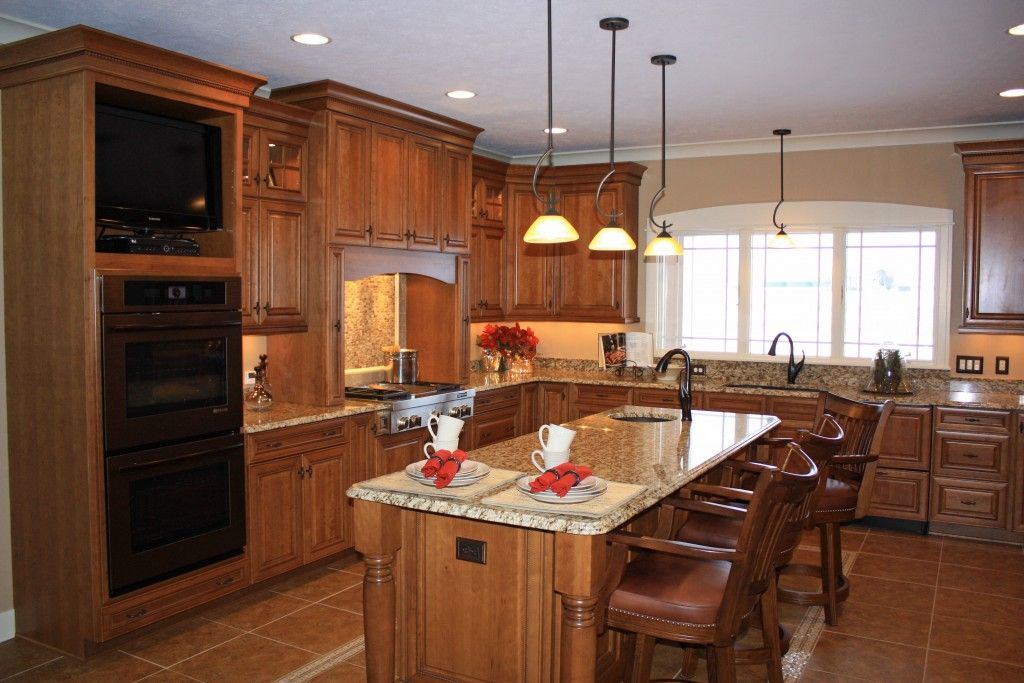 Elements of rustic style includes cabinetry doors made ...