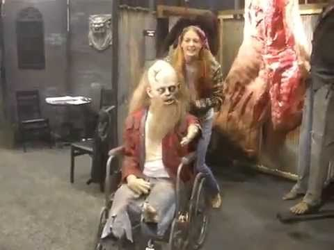 buford in wheelchair halloween decorations for the home haunter haunted house and theme parks