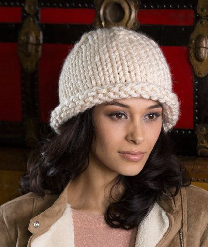 Artisan Hat Free Knitting Pattern In Red Heart Yarns New New Free