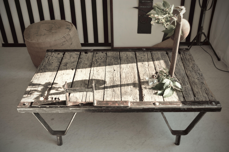 Eisen Holz Tisch Tisch Holz Und Eis