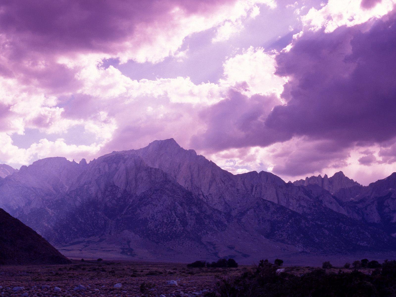 Purple Mountains Google Search Purple Sky Mountain Wallpaper Waterfall Wallpaper
