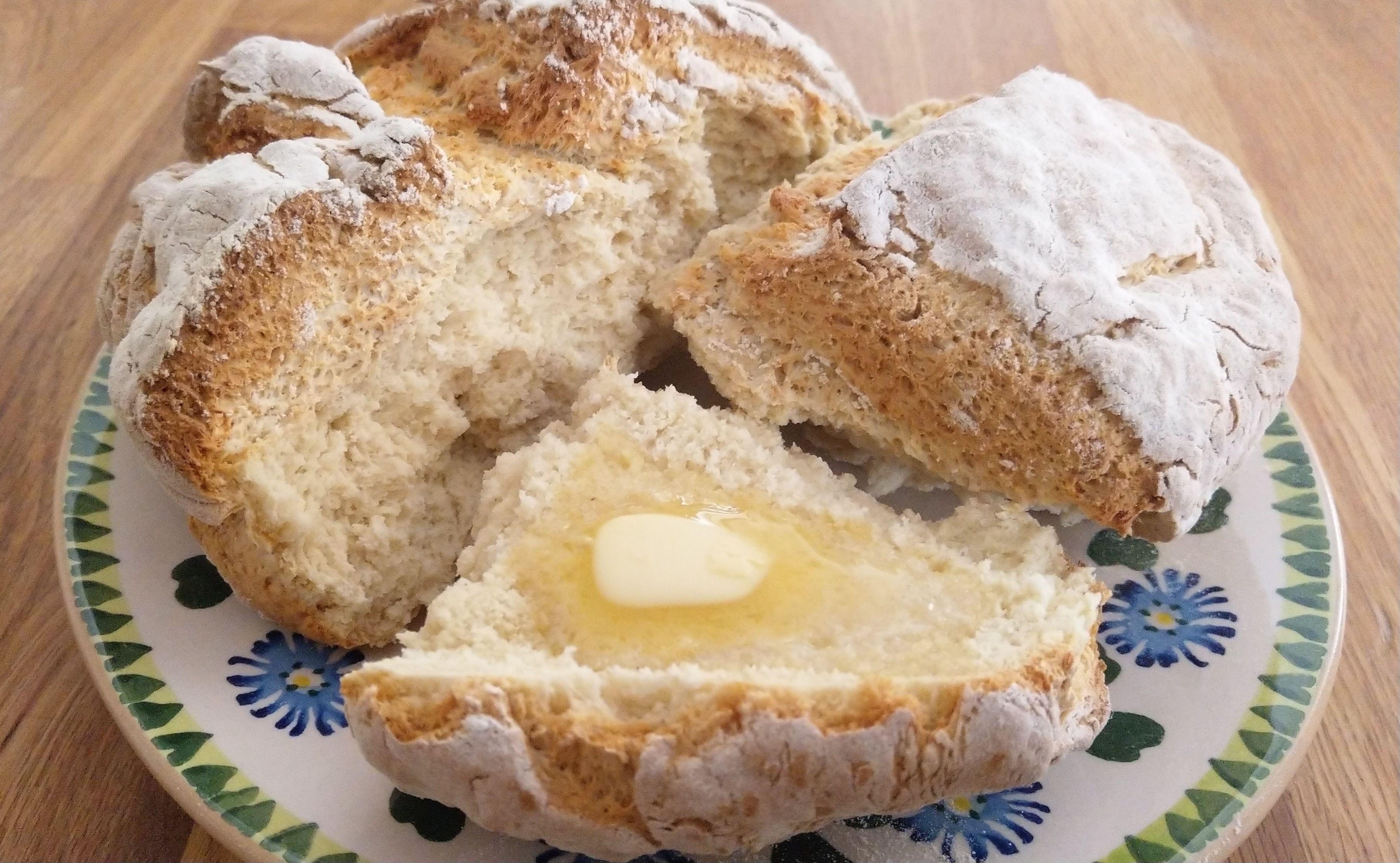 Ireland Traditional Irish Soda Bread Without Buttermilk European Cuisines Irish Soda Bread Soda Bread Without Buttermilk Traditional Irish Soda Bread