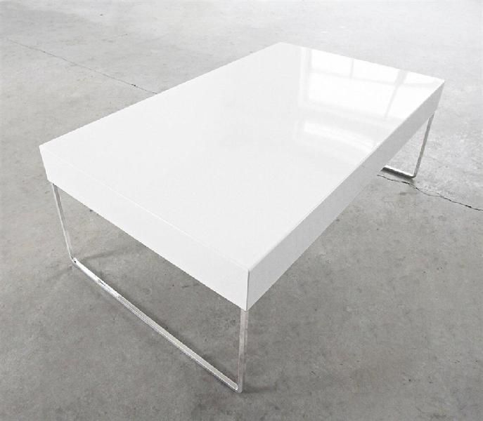 Marvelous Simple White Coffee Table White Rectangle Table Ehpmjw