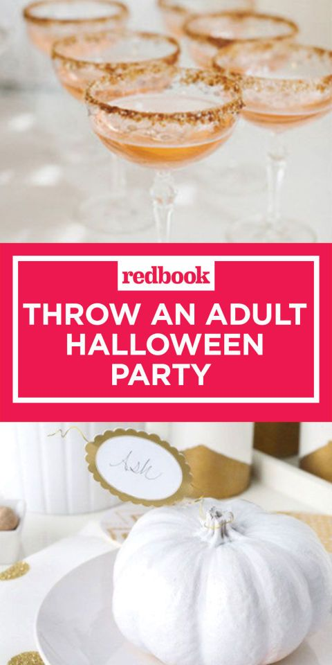 14 Ways to Throw An Adults-Only Halloween Party People Will Actually - adult halloween party decor